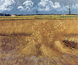 Vincent Van Gogh (Wheat Field) Art Poster Print Masterprint