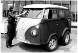 Modified Volkswagen Van Archival Photo Poster Posters