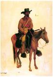 Albert Bierstadt Trapper Art Print Poster Posters