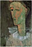 Amadeo Modigliani Pierrot Art Print Poster Print