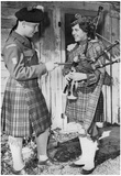 Bagpipers 1963 Archival Photo Poster Posters