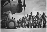World War II Royal Air Force Pilots Archival Photo Poster Print Posters