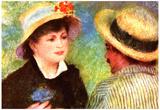 Pierre Auguste Renoir Les Canotiers Art Print Poster Prints