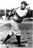 Babe Ruth At Bat Archival Photo Sports Poster Print Posters
