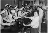 Sailors Drinking at Bar 1945 Archival Photo Poster Print Posters