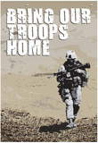 Bring Our Troops Home Poster Print Prints