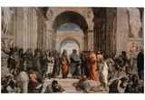 Raphael (The School of Athens) Art Poster Print Prints
