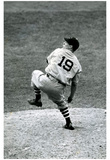 Bob Feller Throwing Pitch Archival Photo Sports Poster Print Photo