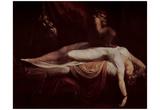 Johann Heinrich Fussli (Nightmare) Art Poster Print Prints