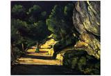 Paul Cezanne (Landscape) Art Poster Print Prints