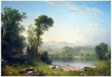 Asher Brown Durand Pastoral Landscape Art Print Poster Print