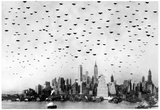 Planes over Manhattan 1931 Archival Photo Poster Print Prints