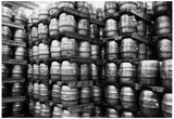 Kegs of Beer Archival Photo Poster Poster