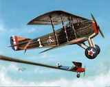 WWI Rickenbacker's (In Sky) Art Poster Print Prints