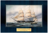 USS Constitution ship Paul R. Hee Art Print Poster Afiche