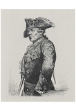 Adolf Friedrich Erdmann of Menzel (Frederick the Great) Art Poster Print Print