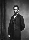 Abraham Lincoln (Photograph, Standing) Art Poster Print Masterprint