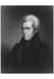 Andrew Jackson (Portrait) Art Poster Print Poster
