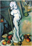Paul Cezanne Still Life with Cherub Art Print Poster Prints