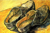 Vincent Van Gogh A Pair of Leather Clogs Art Print Poster Masterprint