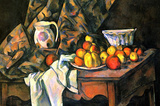 Paul Cezanne Still Life with Apples and Peaches Art Print Poster Masterprint