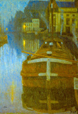 Baertsoen Ghent Art Print Poster Masterprint