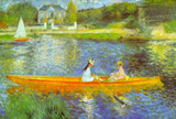 Pierre Auguste Renoir The Seine Art Print Poster Masterprint