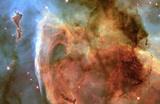 Light and Shadow in the Carina Nebula Space Photo Art Poster Print Masterprint