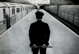 Policeman on New York City Subway Platform Archival Photo Poster Print Masterprint
