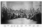 The US Supreme Court (Justices, 1868) Art Poster Print Prints
