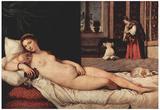 Titian (Venus of Urbino) Art Poster Print Posters