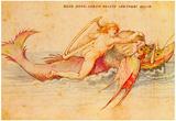 Albrecht Durer Ambras Art Book Arion Art Print Poster Posters