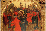 Theophanis Strelitzas Betrayal of Christ Art Print Poster Posters