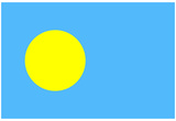 Palau National Flag Poster Print Prints
