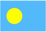 Palau National Flag Poster Print Prints
