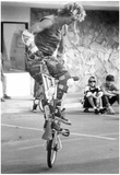 Bicycle Tricks 1986 Archival Photo Poster Prints