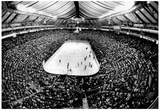 St Louis Blues Ice Hockey Arena Archival Photo Sports Poster Posters