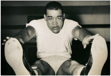 Joe Louis Training Archival Photo Sports Poster Print Prints