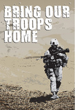 Bring Our Troops Home Poster Print Masterprint