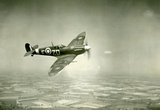 Supermarine Spitfire Mk V Chicago 1942 Archival Photo Poster Print Masterprint