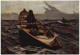 Winslow Homer (Fog Warning) Art Poster Print Photo