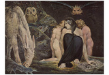 William Blake (Hekate) Art Poster Print Lámina