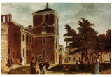 Independence Hall (Philadelphia, 1800) Art Poster Print Posters