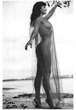 Bettie Page Sheer Archival Photo Poster Print Posters