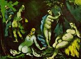 Paul Cezanne (Temptation of Saint Anthony) Art Poster Print Masterprint