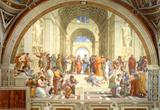 The School of Athens Scuola di Atene by Raphael Art Print Poster Masterprint