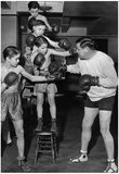 Babe Ruth Boxing Archival Photo Poster Print Prints
