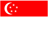 Singapore National Flag Poster Print Print