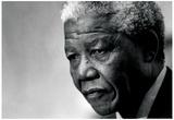 Nelson Mandela Archival Photo Poster Print Plakater