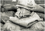 US Soldier In God We Trust Archival Photo Poster Print Posters